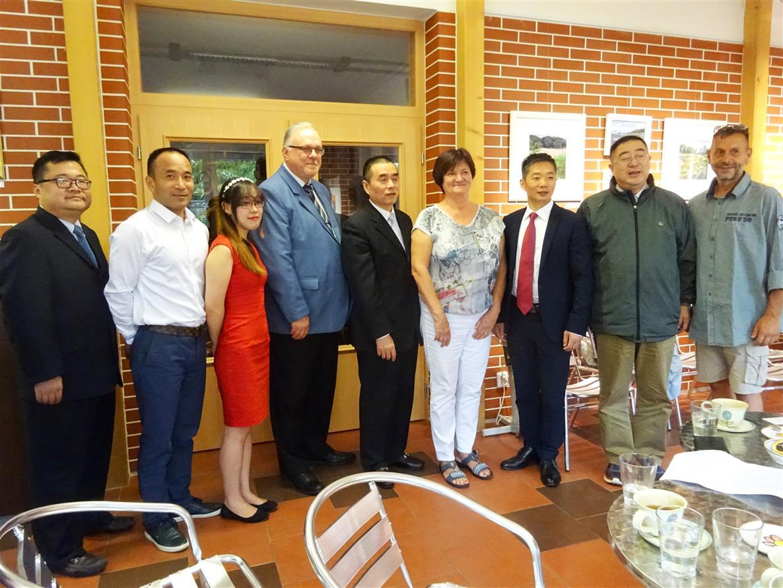 Přivítali jsme čínskou delegci
