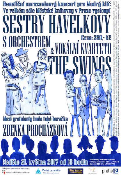 Sestry Havelkovy a The Swings zvou na benefiční narozeninový koncert
