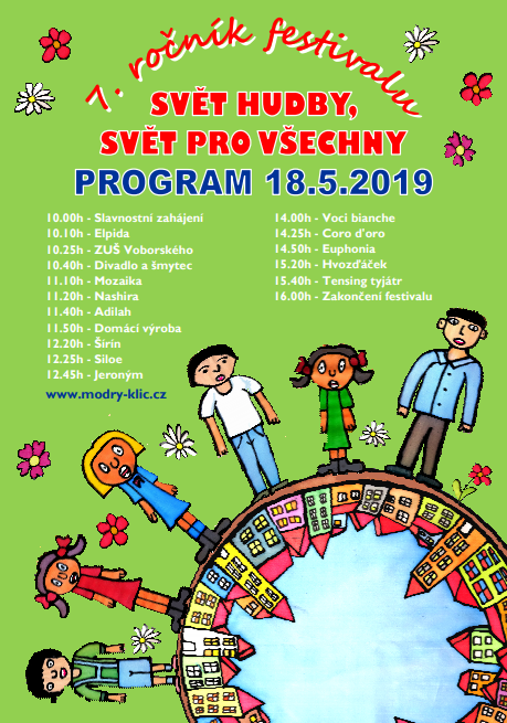 Program sobotního hudebního festivalu