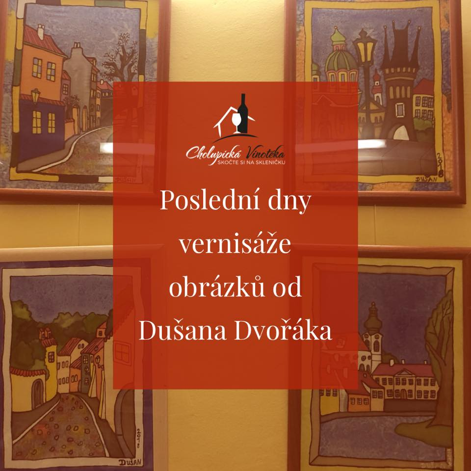 Výstava obrázků Dušana Dvořáka
